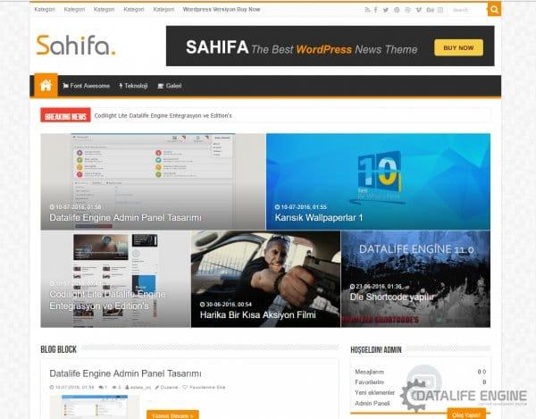 Sahifa Lite - DLE Entegrasyon