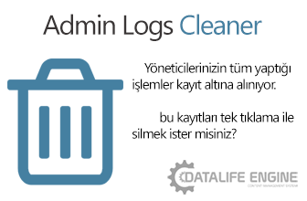 Admin Logs Cleaner v1.1