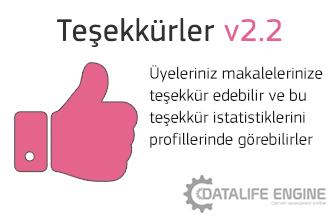 Thanks v2.2.1 ( Teşekkürler Modülü )
