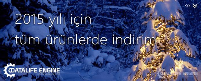 DLE.NET.TR Yeni Yıl İndirimleri - 2015