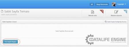 DLE 'de Sabit Sayfa Oluşturmak   Resimli Anlatım