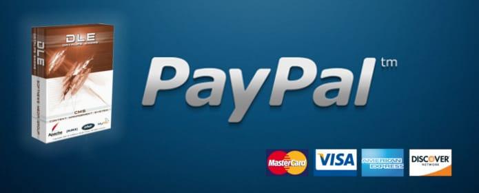 PayPal ile DLE Lisansı Satın Alma İşlemi