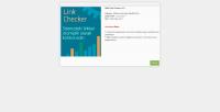 Link Checker v1.0