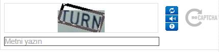 reCAPTCHA değiştirme