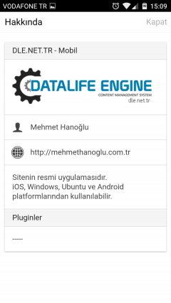 DLE.NET.TR - Android Mobil Uygulaması