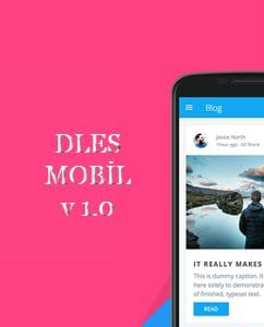 DLES Mobil v1.0 Tema