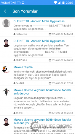 DLE.NET.TR - Android Mobil Uygulaması (Yeni)