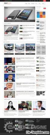 FirstNews Satılık Tema