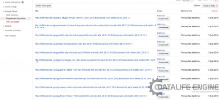 Google Url Hatalarında Artış Ve Anlamsız Linkler Oluşturulması Sorunu