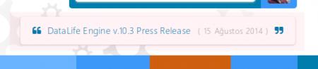 Tasarım Güncellemesi - 21.08.2014